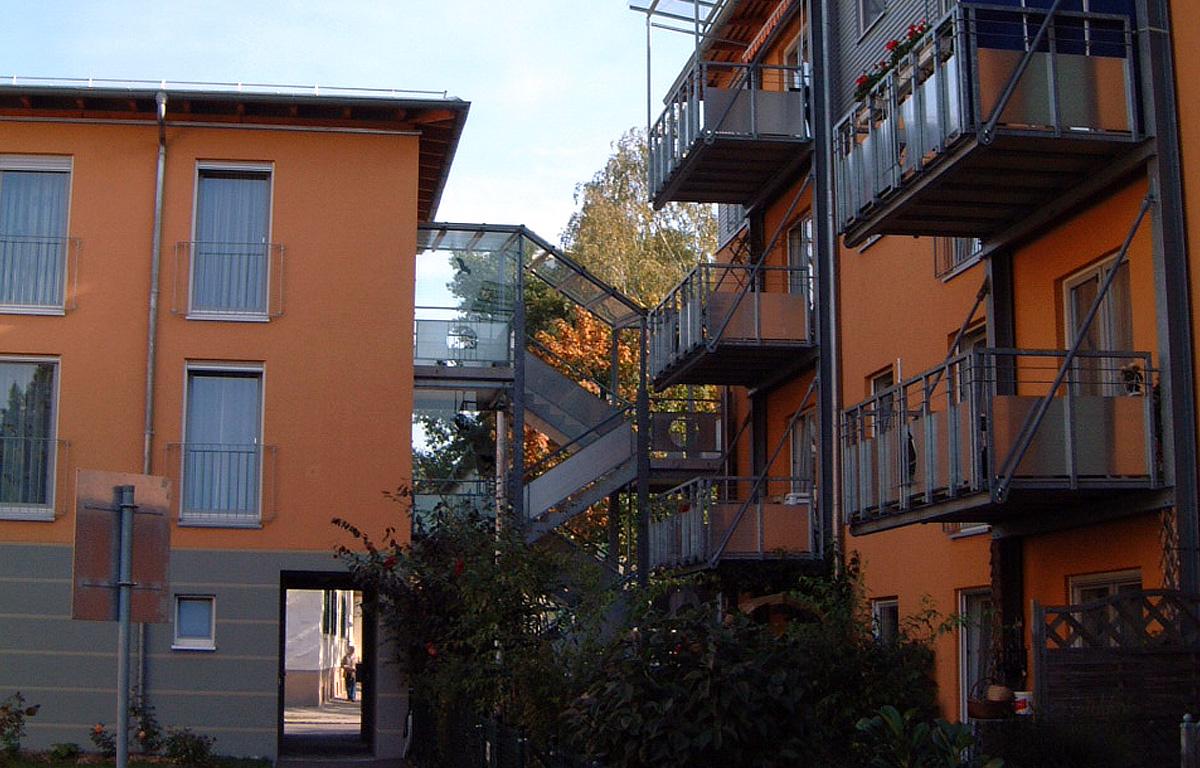 Wohnanlage in Augsburg